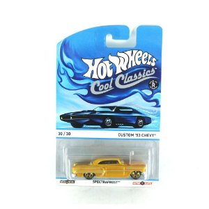 CHEVY CUSTOM '53 SPECTRAFROST 1/64 HOT WHEELS