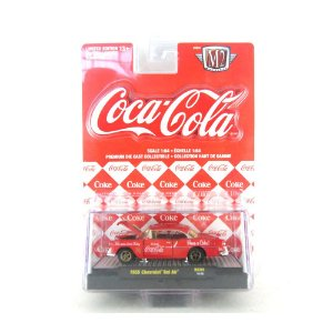 CHEVROLET BEL AIR 1955 COCA-COLA 1/64 M2MACHINES RC002