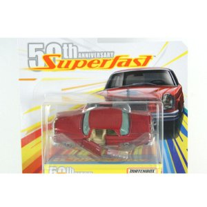 MERCEDES-BENZ 220 SE 1962 SUPERFAST 50TH 1/64 MATCHBOX