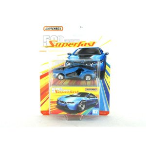 BMW I8 2016 SUPERFAST 50TH 1/64 MATCHBOX