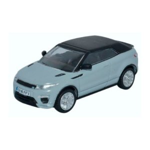 RANGE ROVER EVOQUE CONVERTIBLE BALTORO GELO 1/76 OXFORD AUTOMOBILE COMPANY