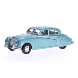JAGUAR MKVII AZUL 1/76 OXFORD AUTOMOBILE COMPANY