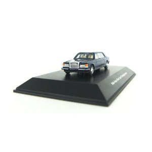 ROLLS ROYCE SILVER SPUR TOURING LIMOUZINE AZUL 1/87 BOS BEST OF SHOW