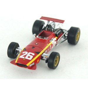 FERRARI 312 F1 26 WINNER FRENCH GP ROUEN 1968 1/43 HOTWHELLS