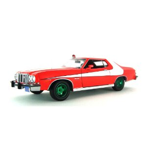 Greenmachine Ford Gran Torino 1976 Starsky & Hutch 1/24 Greenlight