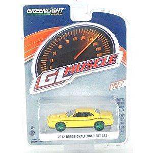 Greenmachine Dodge Challenger SRT 392 1/64 Greenlight