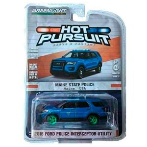 GREEN MACHINE Ford Police Interceptor Utility 2016 1/64 Greenlight