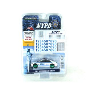 GREEN MACHINE Dodge Charger Pursuit 2017 NYPD 1/64 Greenlight