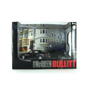 GREEN MACHINE Diorama Steve McQueen Bullit 1/64 Greenlight