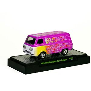 Ford Econoline Van 1965 - Custom WILD-CARDS 1/64 M2 Machines