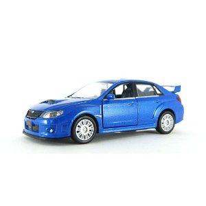 Subaru WRX STI Luz e Som 1/32 Hot Wheels