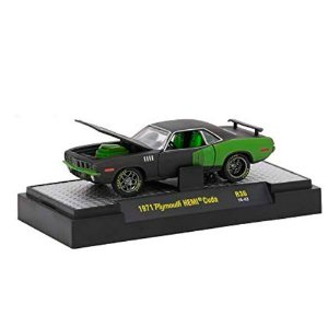 Plymouth Hemi Cuda 1971 MOPAR GARAGE 1/64 M2 Machines
