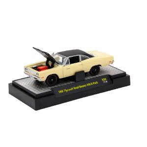 Plymouth Road Runner 1969 DETROIT-MUSCLE 1/64 M2 Machines