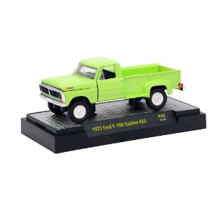 Ford F-100 Custom 4x4 1972 AUTO-TRUCKS 1/64 M2 Machines
