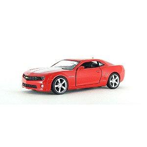 Chevrolet Camaro Vermelho e Branco Luz e Som 1/32 Hot Wheels