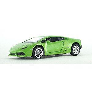 Lamborghini Huracán Verde Luz e Som 1/32 Hot Wheels