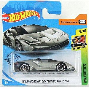 Lamborghini Centenario Roadster2016 HWExotics 1/64 HotWheels
