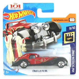 Cruela De Vil HW Screen Time 1/64 HotWheels