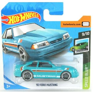 Ford Mustang 1992 Speed Blur 1/64 HotWheels