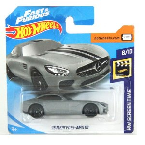 Mercedes-AMG GT 2015 HW Screen Time 1/64 HotWheels