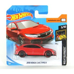 Honda Civic Type R 2018 Nightburnerz 1/64 HotWheels