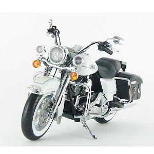 Harley Davidson: FLHRC Road King (2012) - Branca - 1/12 Highway61