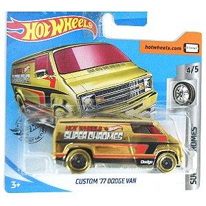 Custom 1977 Dodge Van Super Chromes 164 HotWheels