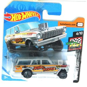 1964 Nova Wagon Gasser HW Race Day 164 HotWheels