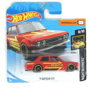 1971 Datsun 510 Nightburnerz 164 HotWheels