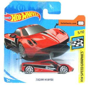 Pagani Huayra HW Speed Graphics 164 HotWheels