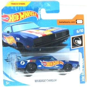 1969 Dodge Charger HW Race Team 164 HotWheels