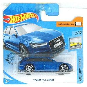 2017 Audi RS 6 Avant Factory Fresh 164 HotWheels