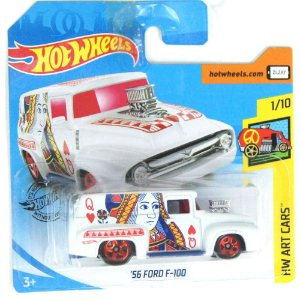 1956 Ford F-100 HW Art Cars 164 HotWheels