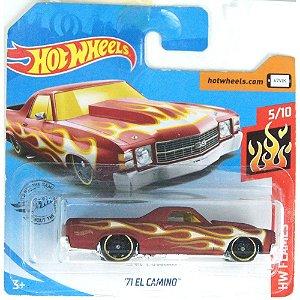 1971 El Camino HW Flames 164 HotWheels