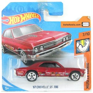 1967 Chevelle SS 396 Muscle Mania 1/64 Hot Wheels