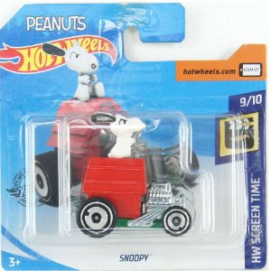 Snoopy HW Screen Time 1/64 Hot Wheels