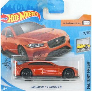 Jaguar XE SV Project 8 Factory Fresh 1/64 Hot Wheels