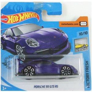 Porsche 911 GT3 RS Factory Fresh 1/64 Hot Wheels
