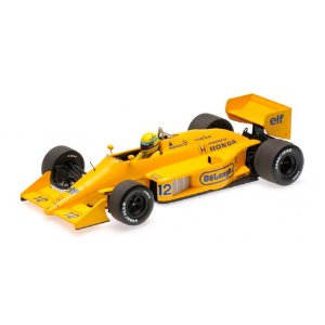 Lotus Honda 99T  A. S. Winner Monaco GP 1987 1/18 Minichamps