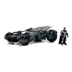 2017 Batmobile Liga da Justiça com Boneco 1/24 Jada Toys