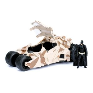 2008 Batmobile Dark Knight com Boneco 1/24 Jada Toys