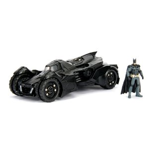 2015 Batmobile Arkham Night com Boneco 1/24 Jada Toys