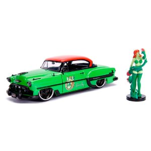 1953 Chevy Bel Air Hera Venenosa com Boneco 1/24 Jada Toys