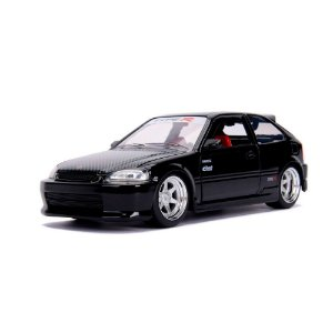 Miniatura1997 Honda Civic EK Type R JDM Preto 1/24 Jada Toys