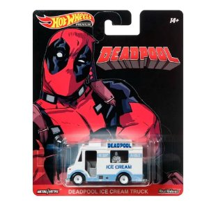 Deadpool Ice Cream Truck 1/64 Hot Wheels