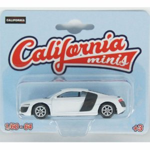 Audi R8 V10 1/64 California Minis