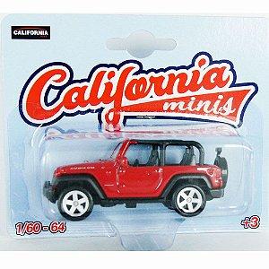 Jeep Wrangler Rubicon 1/64 California Minis