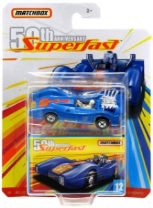 Blue Shark 12 Superfast 50th 1/64 Matchbox