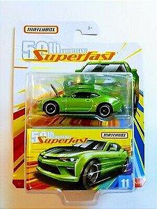 Chevy Camaro 2017 11 Superfast 50th 1/64 Matchbox