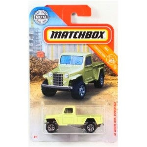 Jeep Willys Pickup 1951 1/64 Matchbox